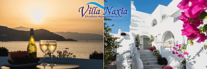 Naxos Accommodation Villa Naxia