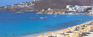 Mykonos beach Platys Yialos (Gialos)